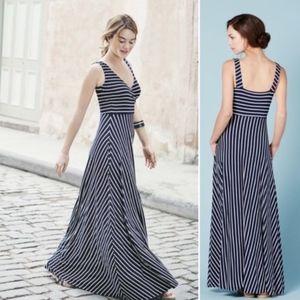Boden Maxi Striped Dress